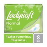 Toalla Femenina Ladysoft Normal Con Alas 8 un